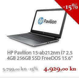 Hp Pavilion 15 Ab212nm I7 2 5 Hp Pavilion Electronic Products Pavillion