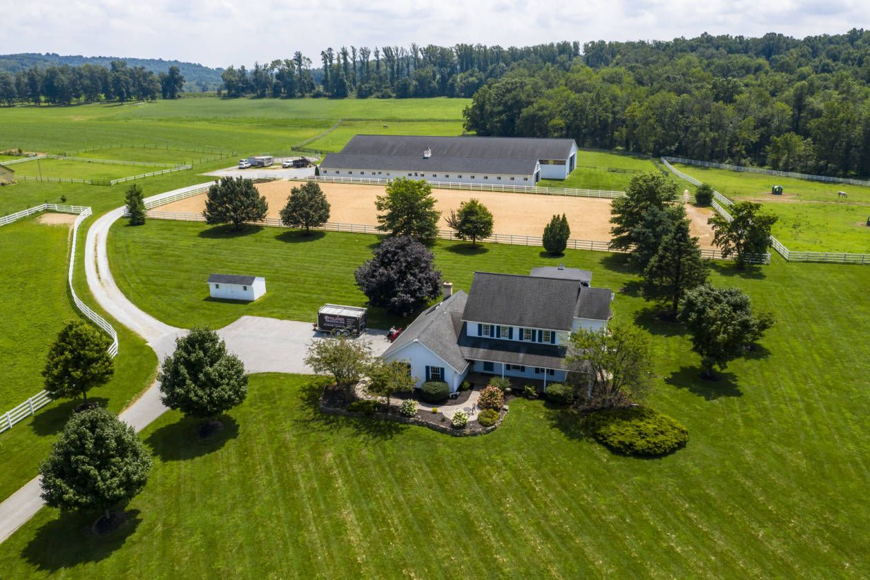 State Of The Art Horse Farm In Gorgeous Chester County Pa