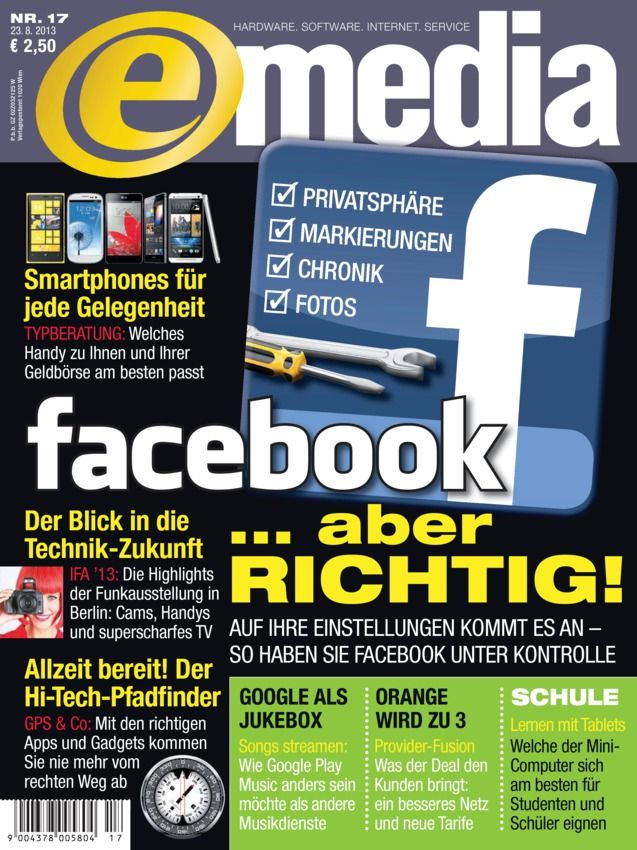 E-MEDIA ePaper Deutsch Magazine - Buy, Subscribe, Download and Read E-MEDIA ePaper on your iPad, iPhone, iPod Touch, Android and on the web only through Magzter