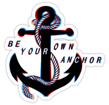 Be Your Own Anchor Tattoo Tattoo Lovin Tattoos Teen Wolf Teen