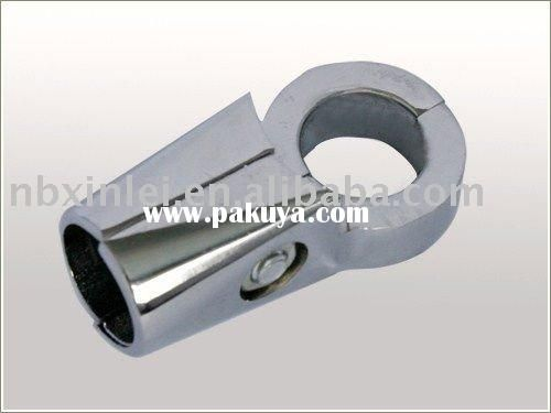 Round head casting aluminum pipe clamp fittings shovel