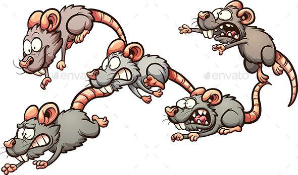 Running Rats  Cartoon rat Rats and Running
