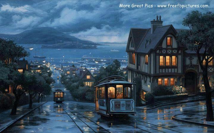 Russian Hill, San Francisco, California - www.freefbpictures.com