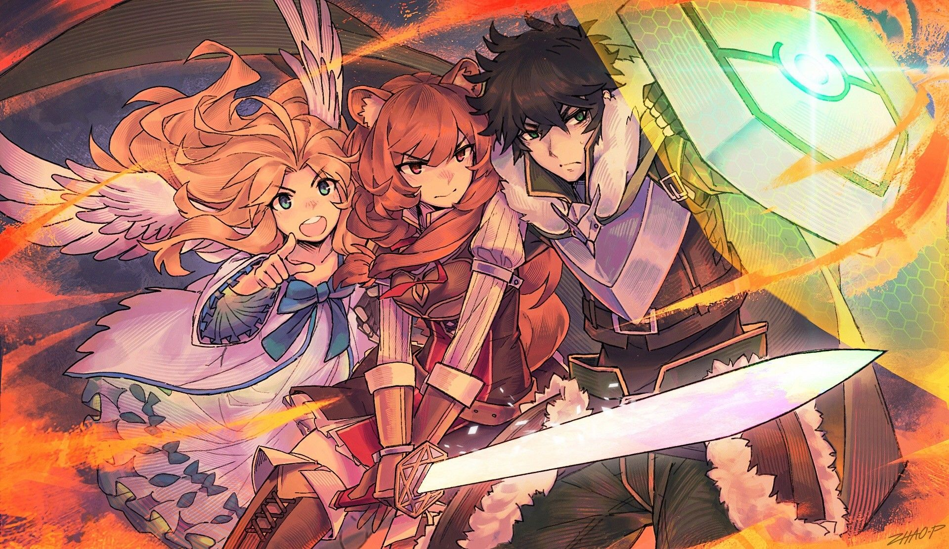 Rising of the Shield Hero by Riley Historia Hero poster