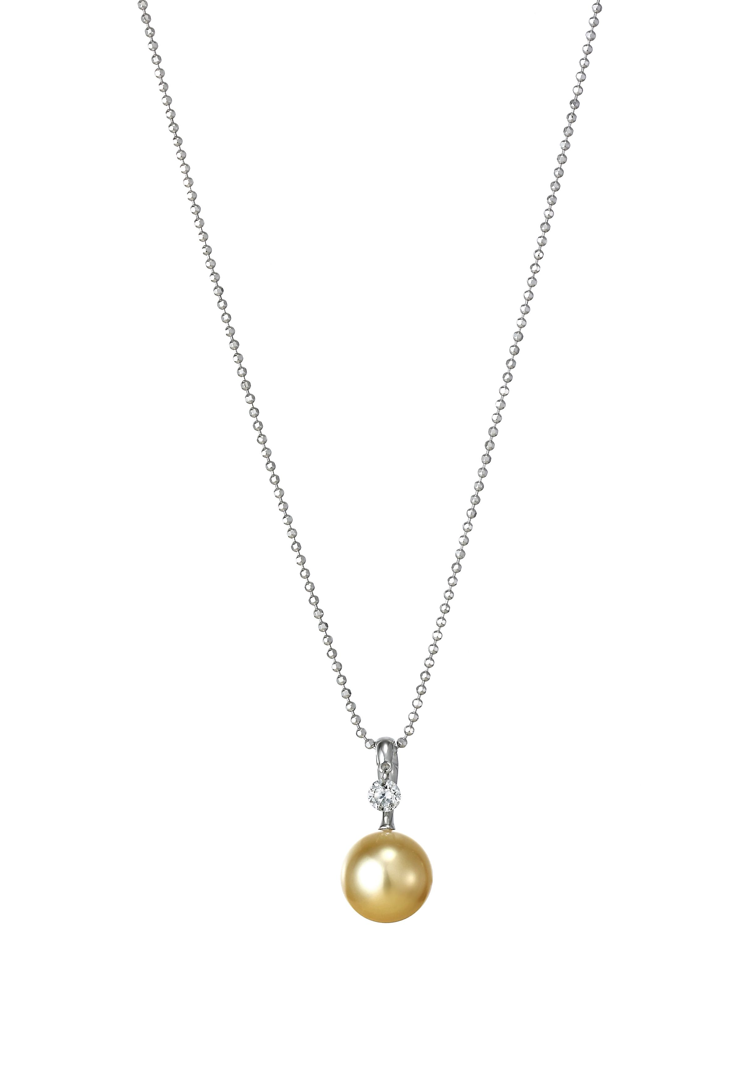 papaya necklace honey freshwater white cultured jewellery by necklaces pendant shop pearl
