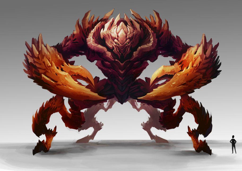 Crab_Monster by ~zombie-ninja on deviantART | MONSTER CRABS ...