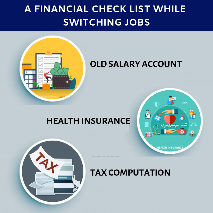 A Financial Check List While Switching Financial Checklist
