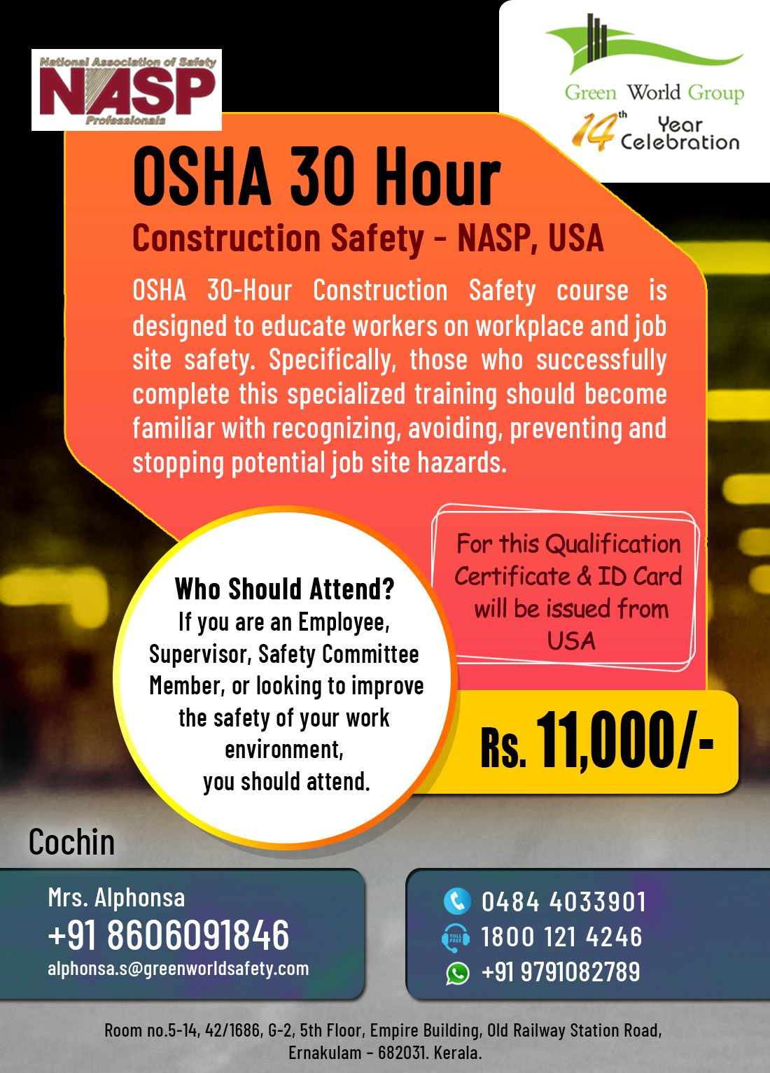 OSHA 30 Hour Construction Industry in 2020 Safety