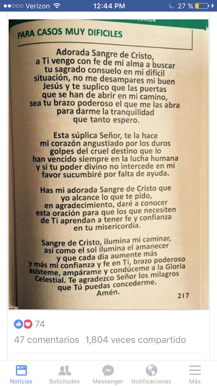 Pin de Nena Robles en Oraciones Catolicas | Pinterest | Oraciones ...