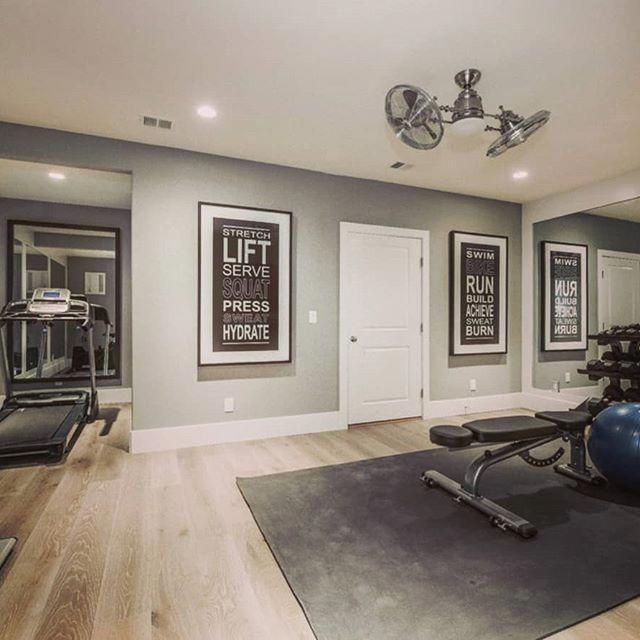 Home Gym Design Ideas Basement: 21 Best Home Gym Ideas #basement #small #garage #outdoor