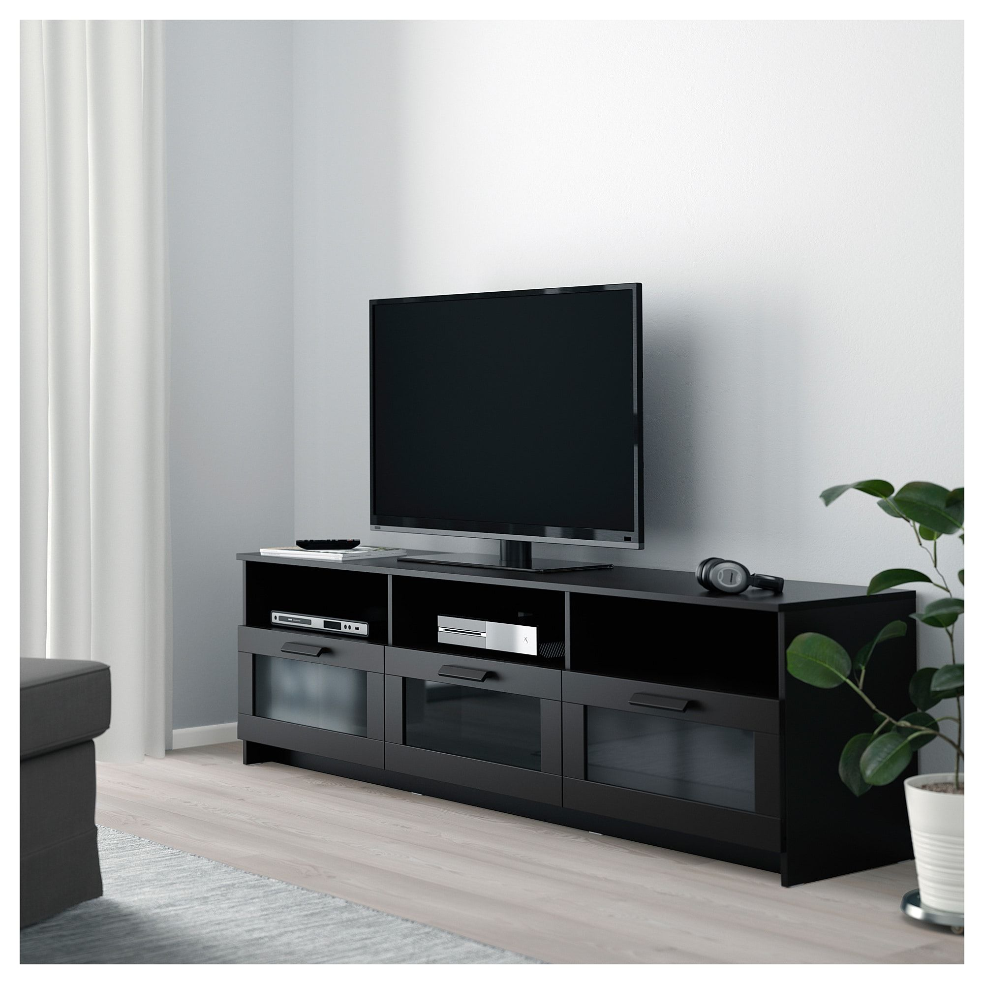 Ikea Brimnes Tv Bench Black In 2019 Products Pinterest Tv