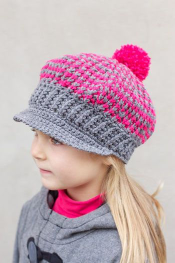 Download Free Pattern Details Astra Newsboys And Girls Caps