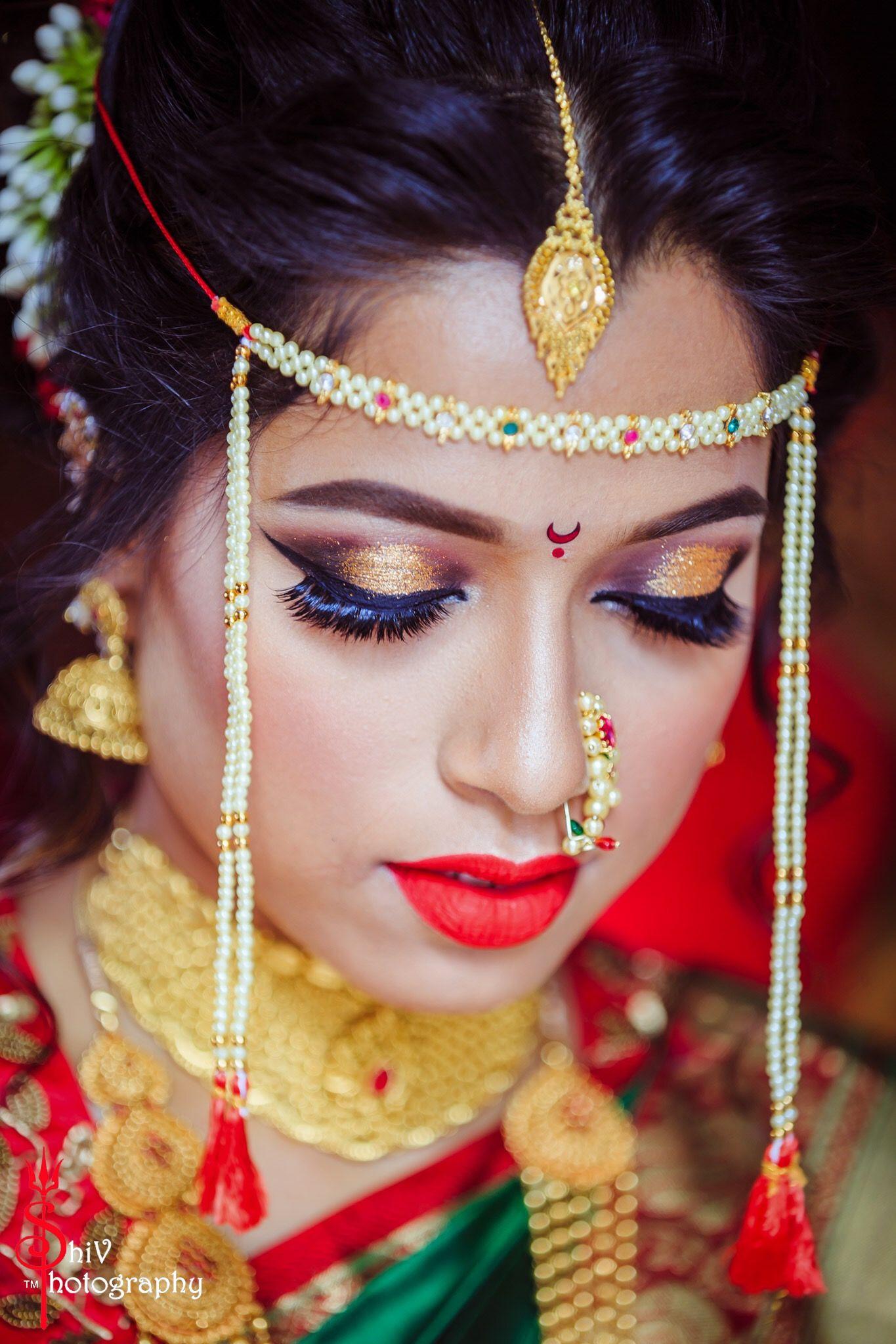 how to put bridal makeup