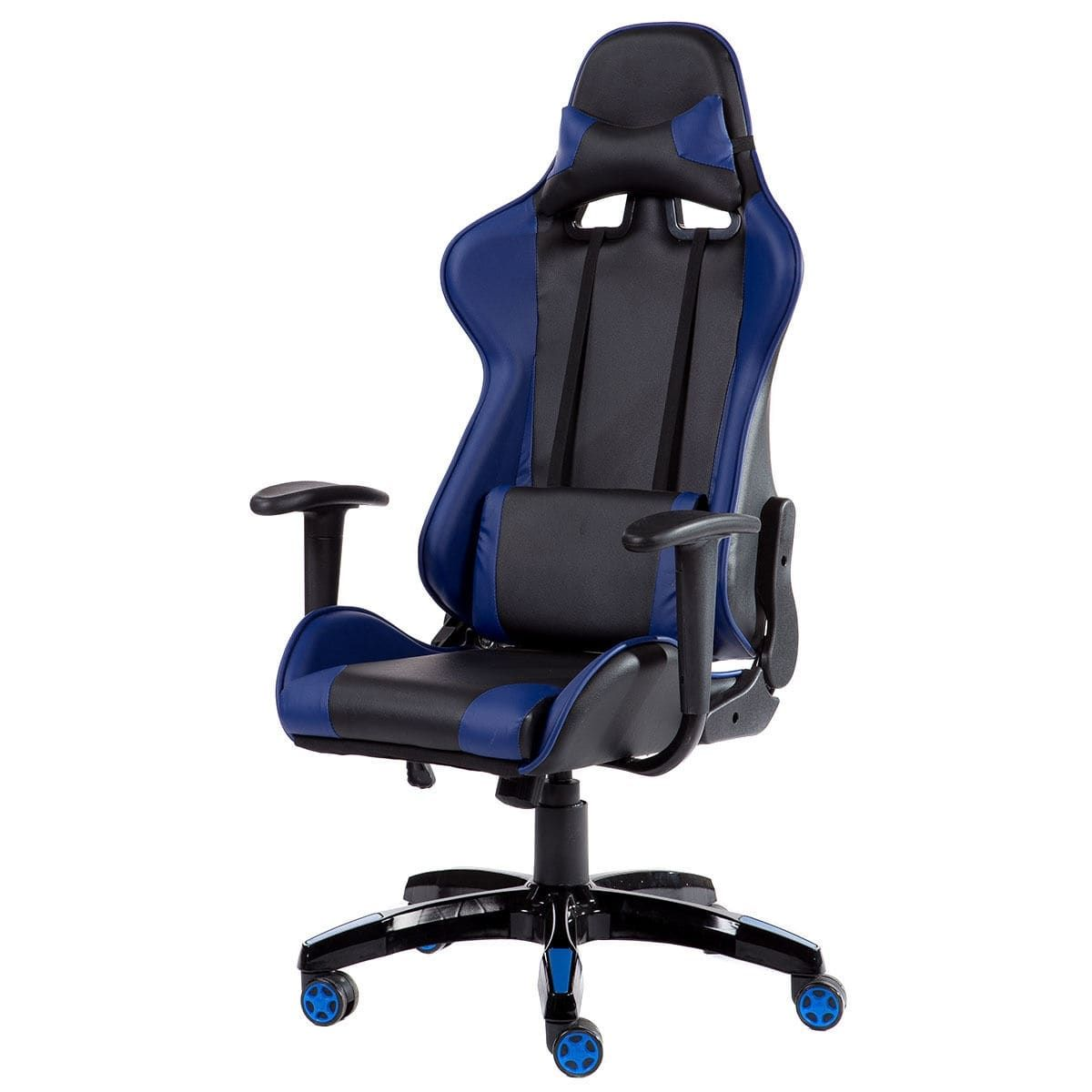 Costway high back racing style gaming chair reclining office