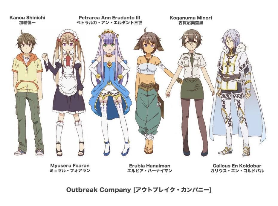 Danny Choo Liked 3 Hours Ago Character Lineup For Outbreak Company Which You Take