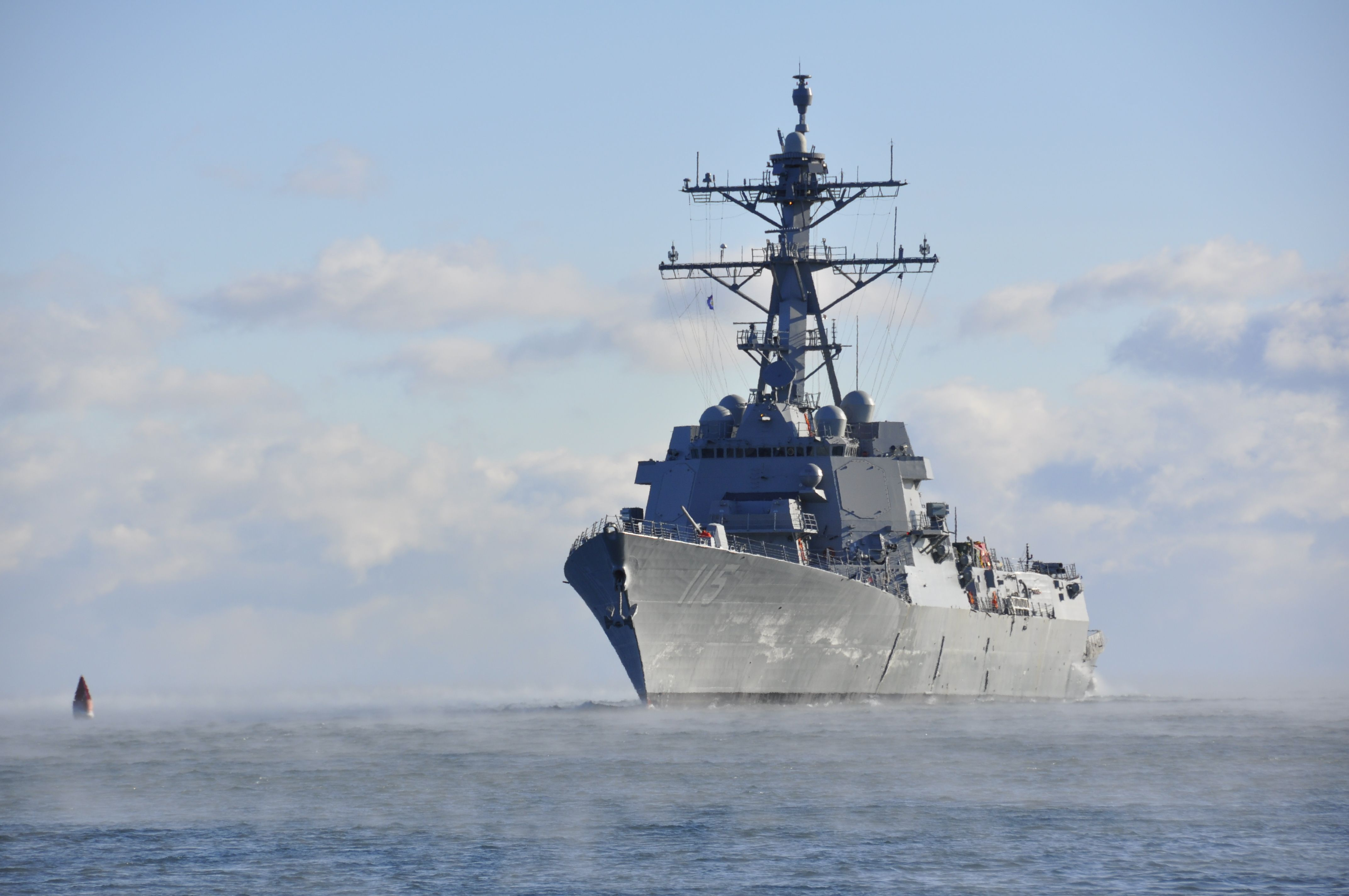 Rafael Peralta Ddg 115 Successfully Completed Acceptance Trials After Spending Two Days Underway Off The Coast Arleigh Burke Class Destroyer Warship Us Navy