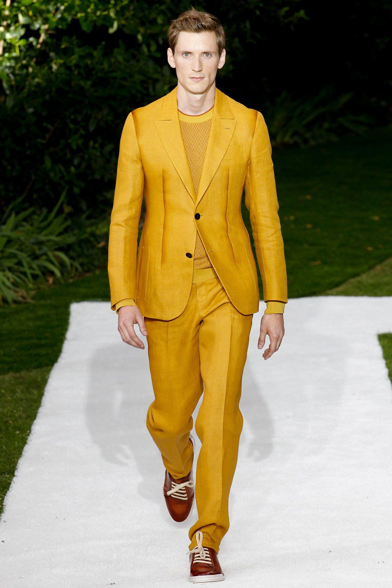 Berluti Spring 2015 Menswear Fashion Show