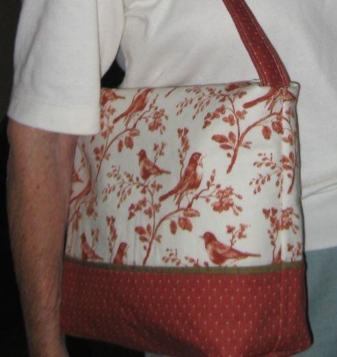 Joey's Robin Bermuda Bag Used Wisconsin State Shop Hop
