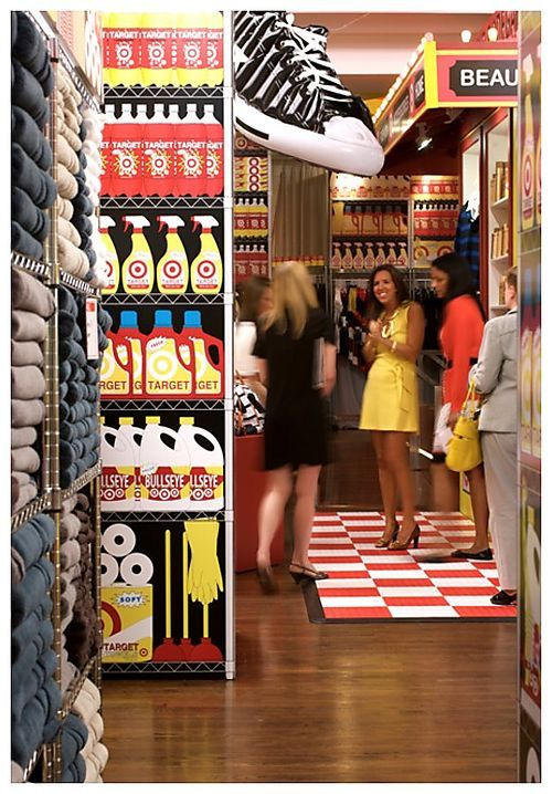 4f58aeebc36 David Stark-Target Bodega project. Using something so real for a creative  pop-up outcome!