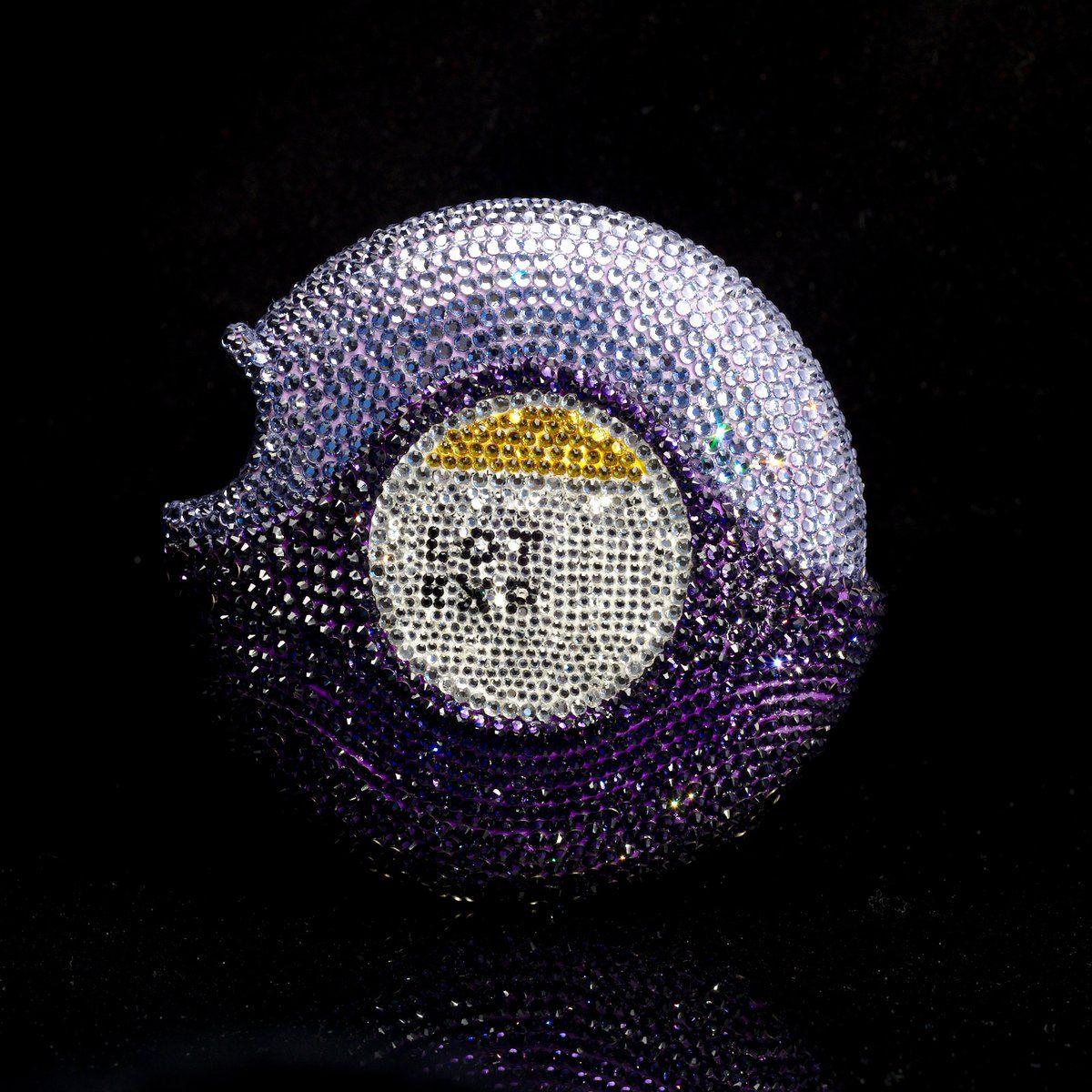 Advaiar Diskus Inhaler Judith G Klausner Sparkles Glitter Metallic Colors Glitter Pin