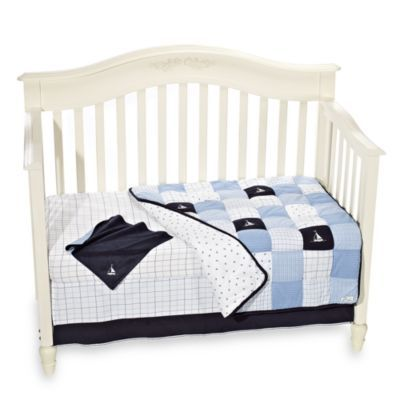 Crib fashion bedding nautica kids william crib bedding set from buy buy baby find this pin and more on nursery ideas