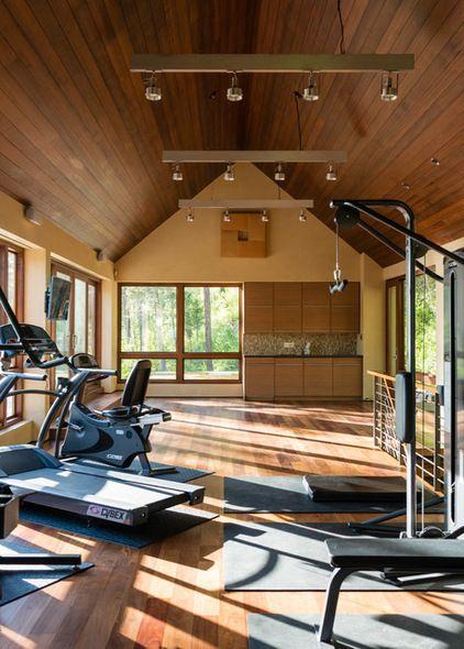 Contemporary home gym by envi interior design studio indoor