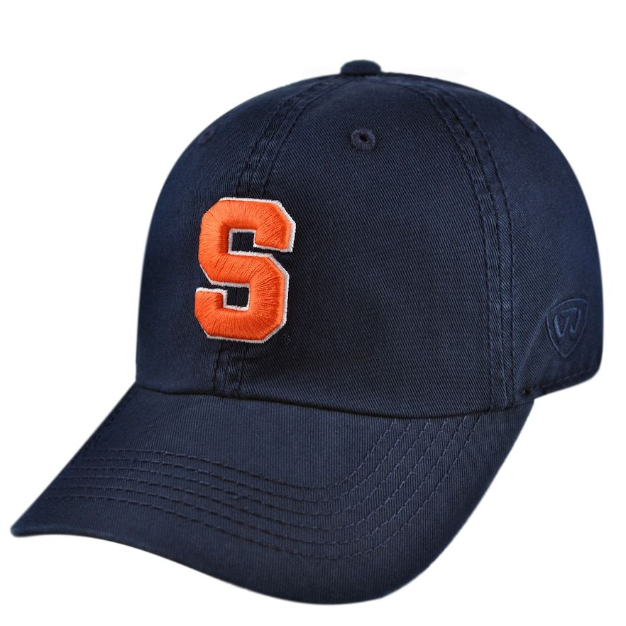 bb426570617 top quality youth top of the world syracuse orange crew baseball cap mens  med orange 70a9a
