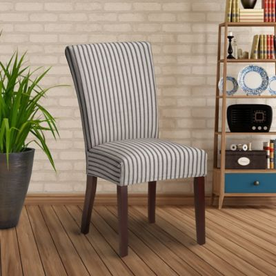 Stretch Dining Chair Covers Modern Conference Chairs Furnitureskins Lincoln Slipcover In Grey