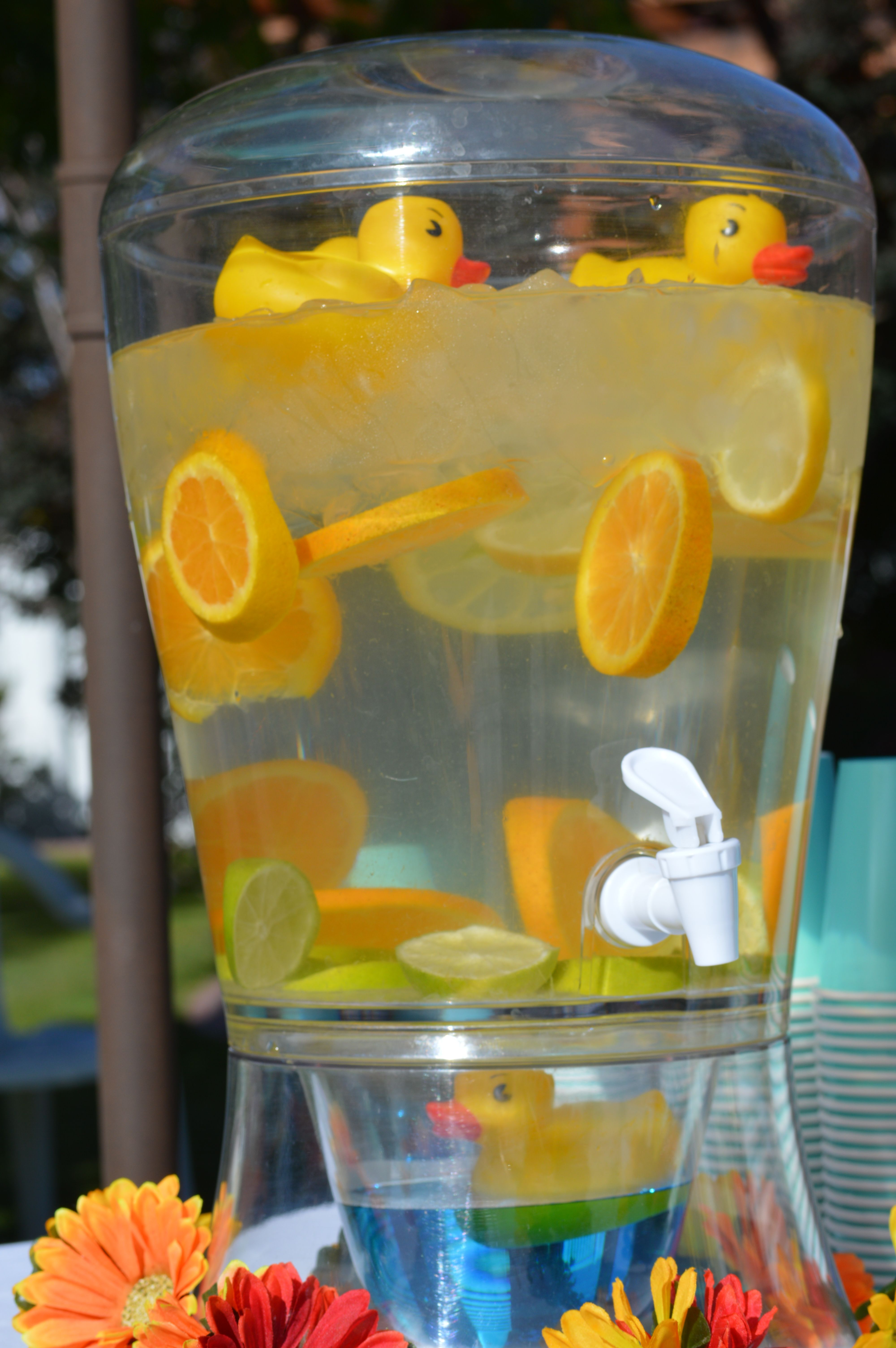 baby shower punch boy shower baby shower yellow rubber ducky baby