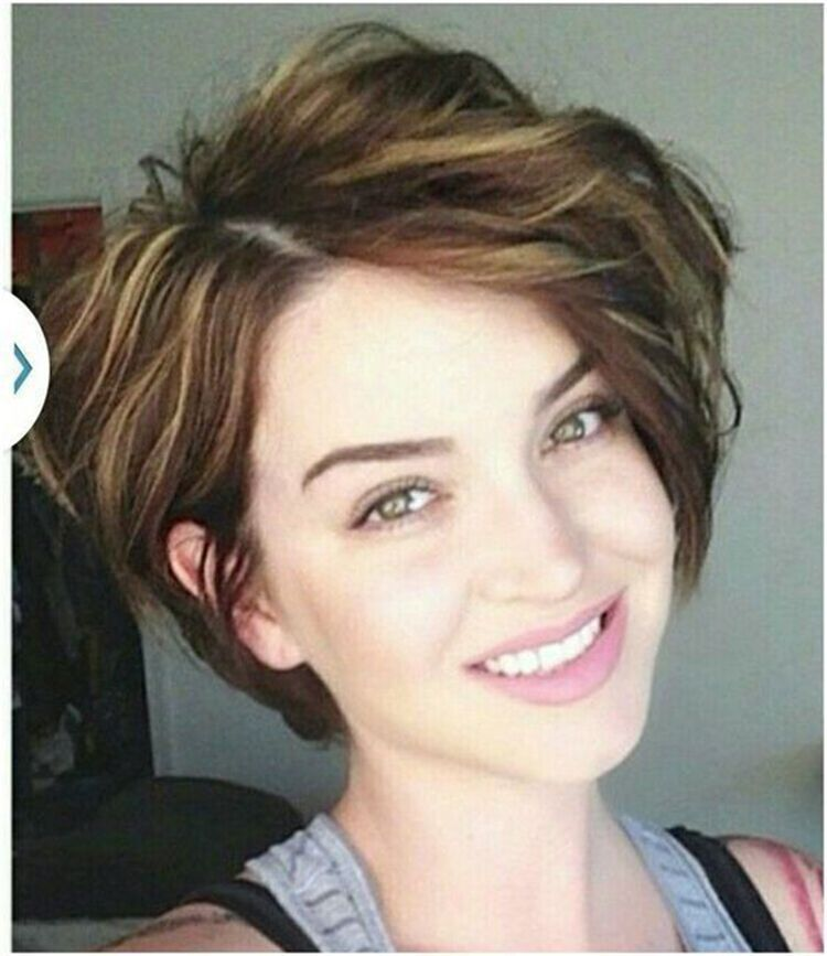 38 Short Wave Hairstyles In 2019 Thick Hair Styles Short Hairstyles For Thick Hair Haircut For Thick Hair