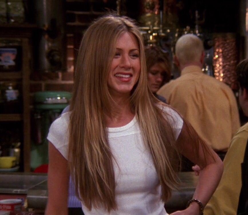 season 6 rachel green hair is goals silver screen