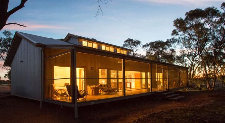 Shearing shed style house shearing shed pinterest for Tasmanian home designs