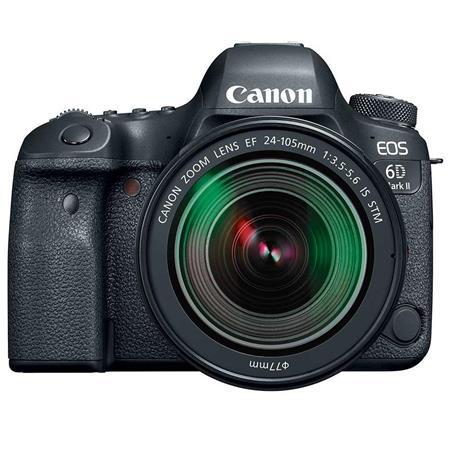 Canon Eos 6d Mark Ii Dslr With Ef 24 105mm F 3 5 5 6 Is Stm Lens 1897c021 Digital Slr Camera Canon Eos Slr Camera