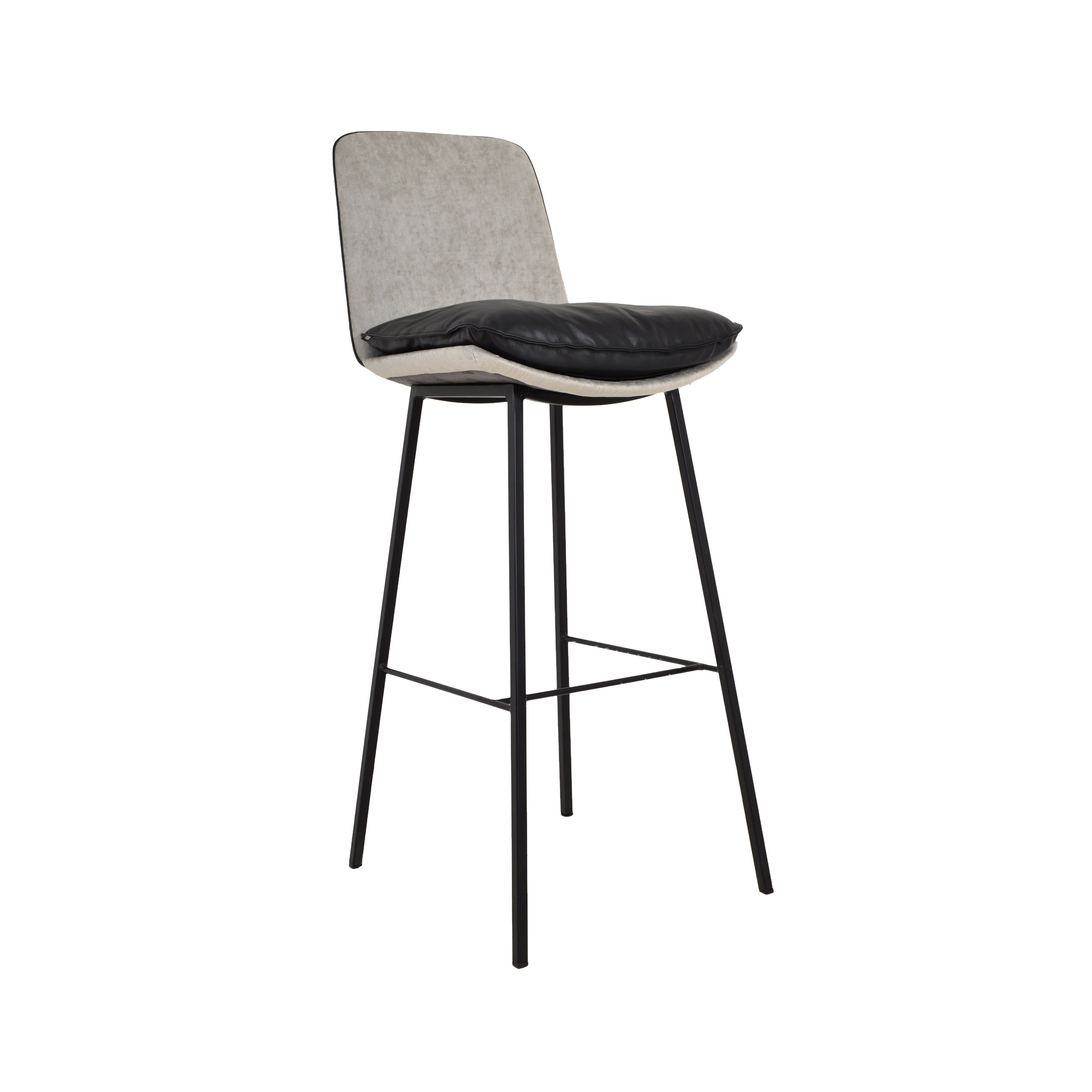 KFF LHASA barstool with swivel and adjustable height or