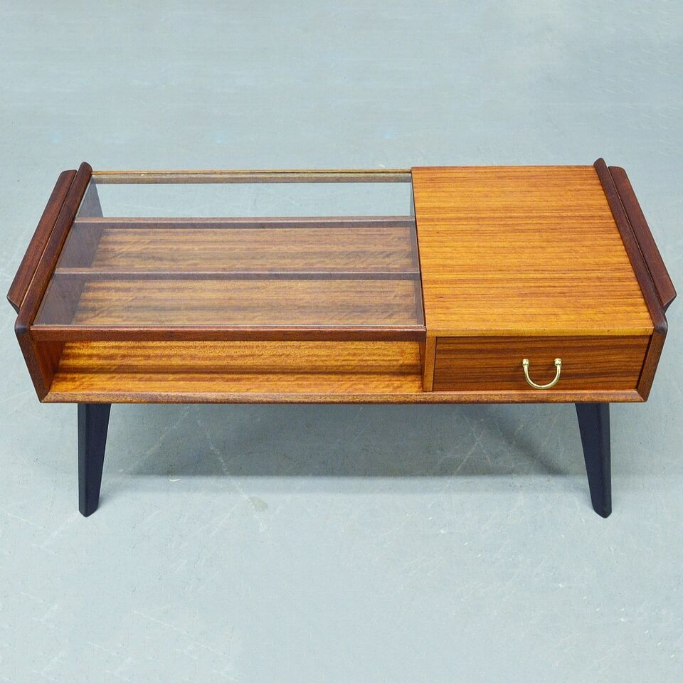 Mid Century Teak And Glass G Plan Tola Coffee Table Coffee Table Retro Coffee Tables Art Deco Coffee Table [ 960 x 960 Pixel ]