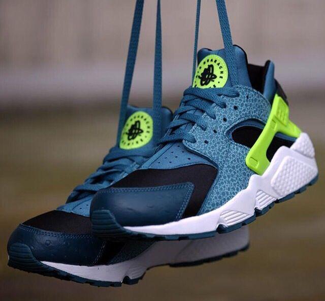 new arrival 7ae60 7d3ef Nehmen Billig Deal Nike Air Huarache Space Blau Billig Schwarz Schuhe Volt