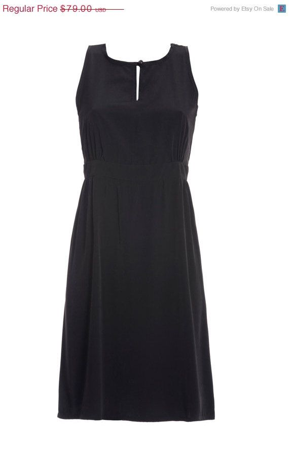 ON SALE little black women dress summer tank dress by girlishstyle, $59.25