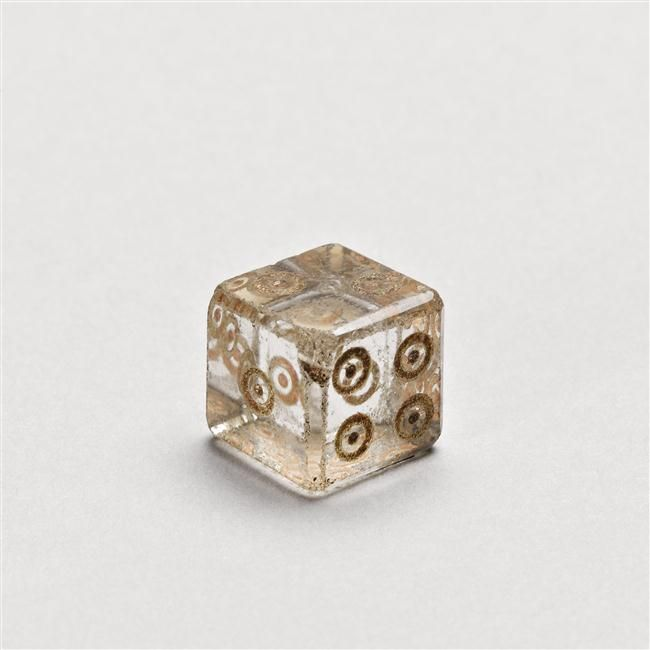 Ancient Roman dice, rock crystal