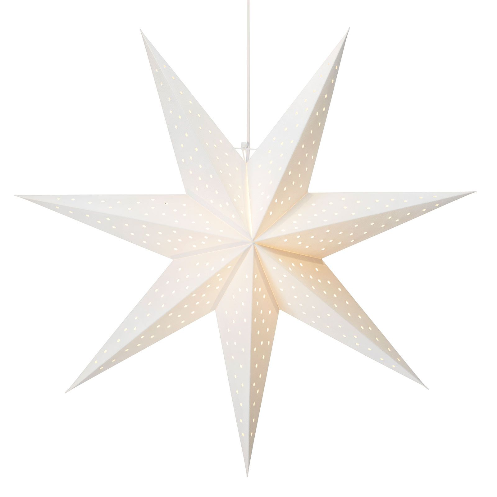 Weihnachtssterne Clara von Markslöjd Weiß