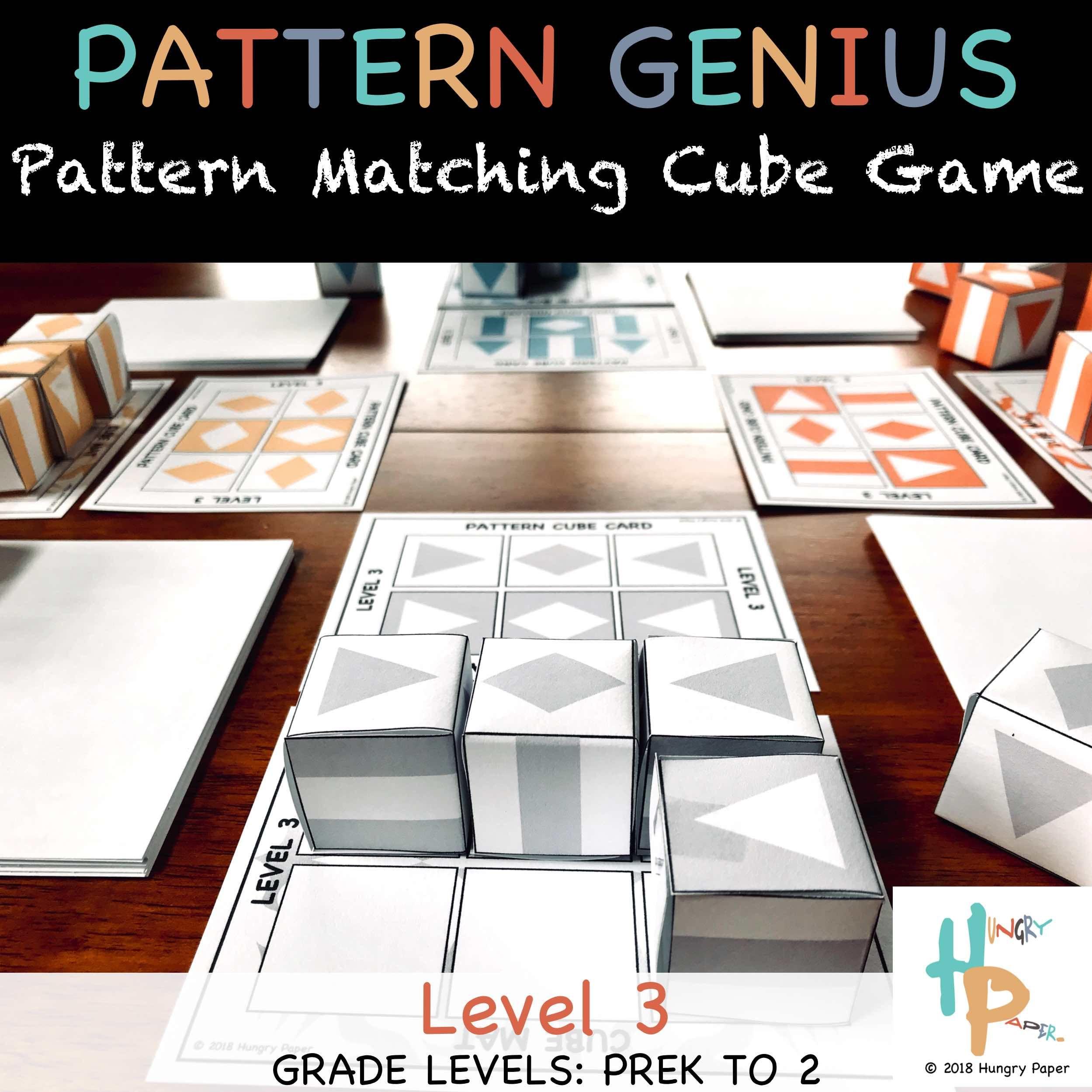 Amazingly Fun Pattern Cube Game Genius