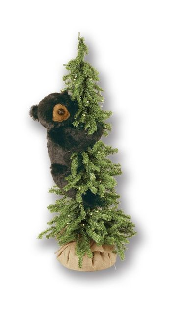 Climbing Pine Tree Bear 40 Inch Buy bears in trees for your rustic