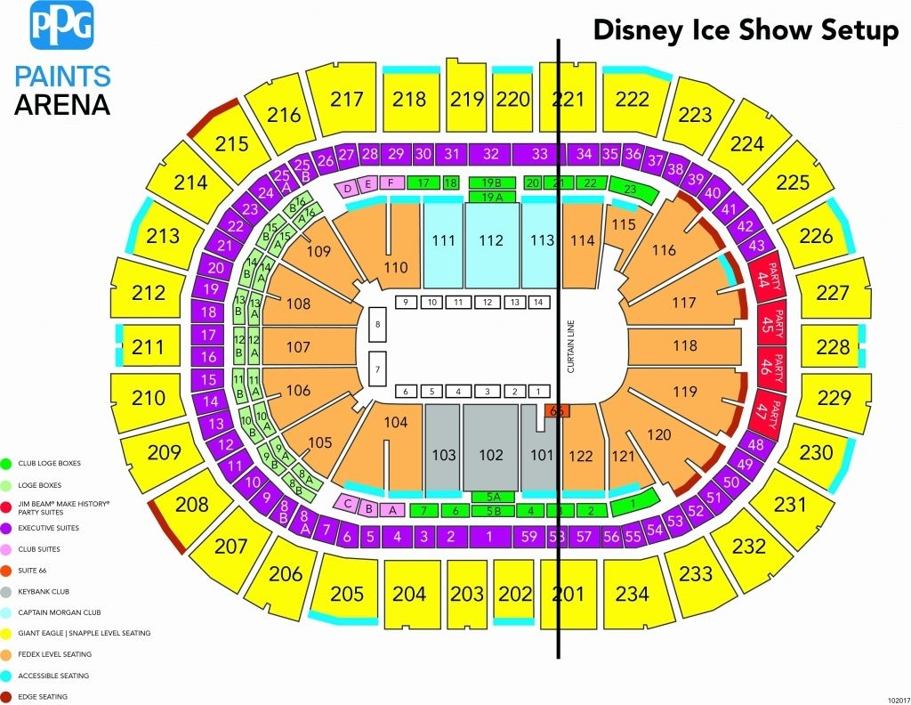 Xfinity Center Seating Chart View In 2020 Seating Charts Seating Plan Disney On Ice