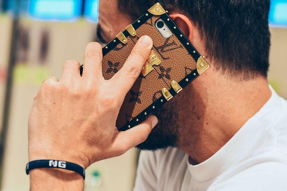 At its SS17 show in Paris, Louis Vuitton pulled a power move by revealing a new line of iPhone cases that mimic the house's iconic trunks.