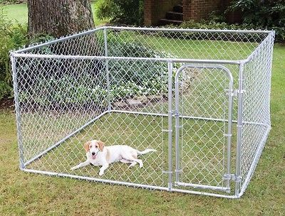 Cages and Enclosure 63108: Fencemaster Do-It-Yourself Galvanized Steel Yard Kennel -> BUY IT NOW ONLY: $177.99 on eBay!
