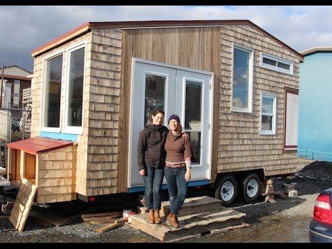 Jessie S 8x20 Tiny House On Wheels In Nova Scotia In 2019