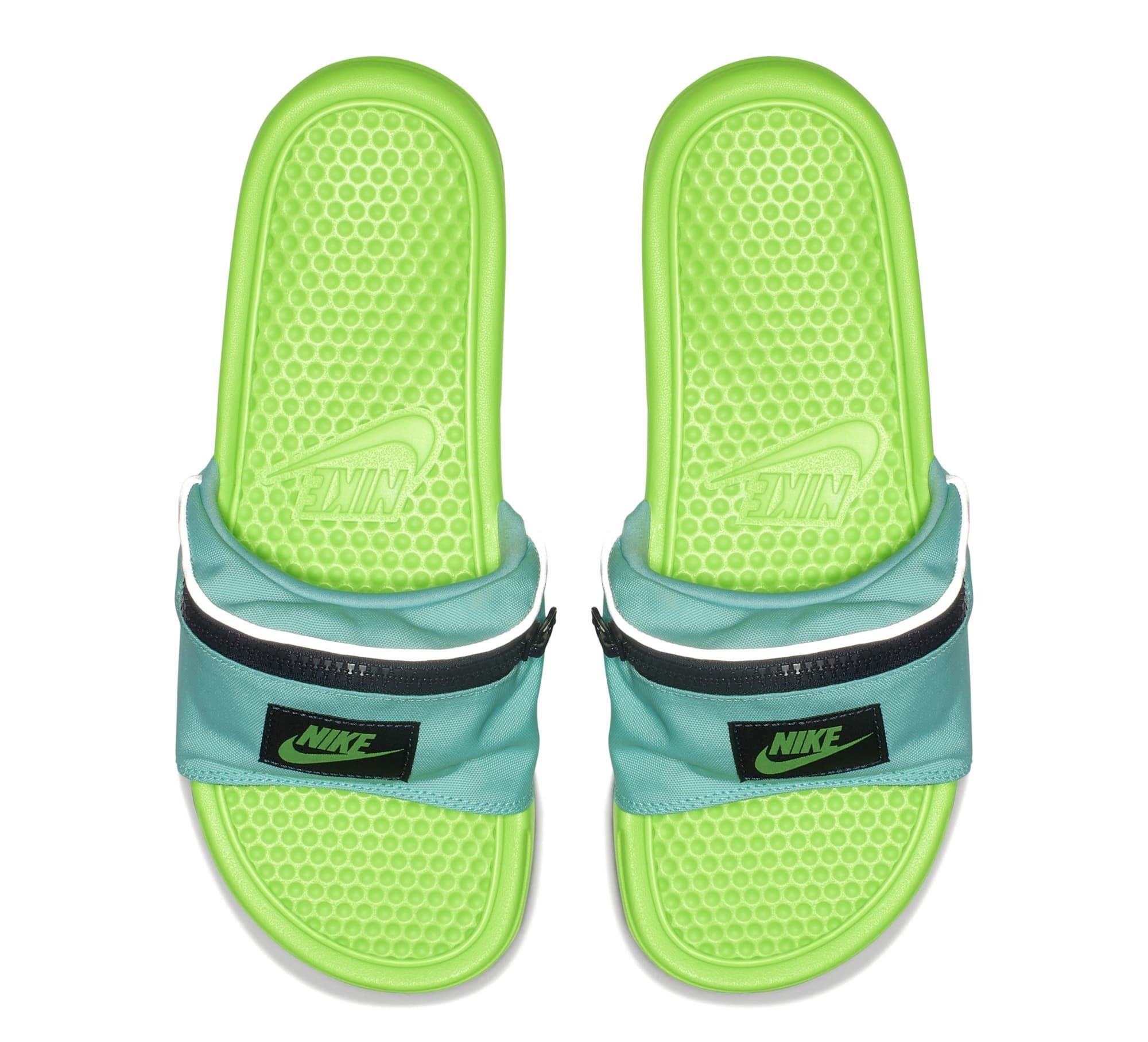 7522802ed29 Nike Benassi JDI  Fanny Pack  Green (Top)