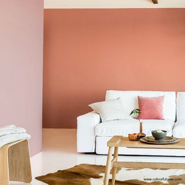 How To Apply The Best Bedroom Wall Colors To Bring Happy: Cool It Down With White And Add A Bit Of #blush. Dulux