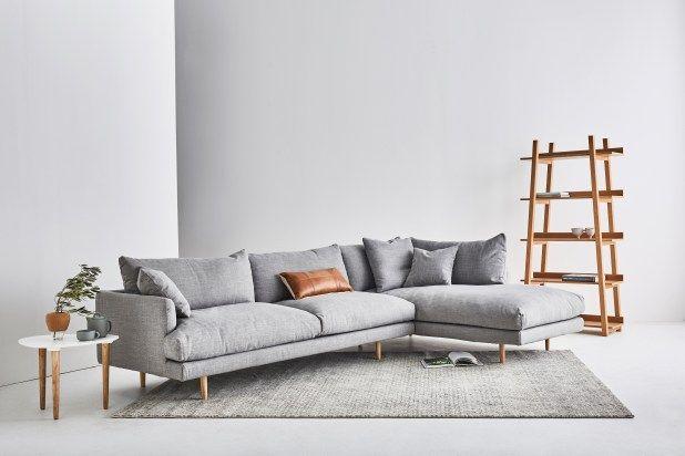 Corner Sofa Small Living Room Lounge Area Decor