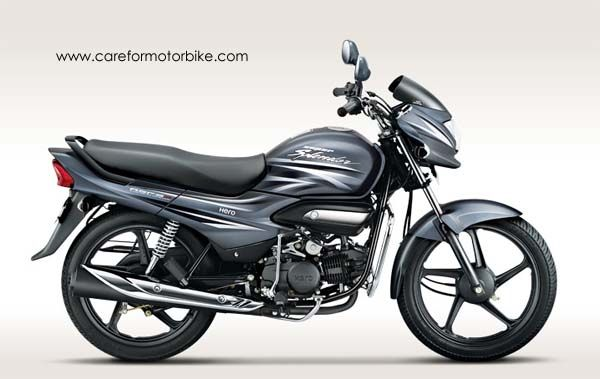 Hero Super Splendor Motorcycle Heavy Grey Colour Hero Motocorp