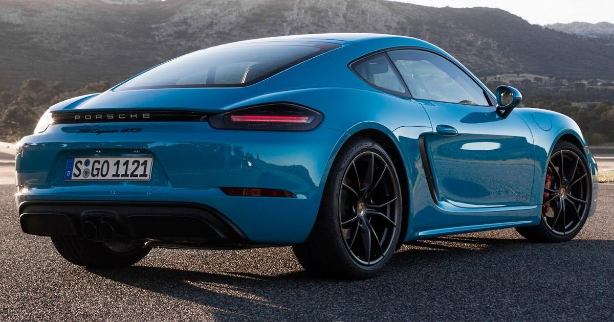 New Porsche 718 Cayman And Boxster Gts Detailed In 85 Pics With Images Porsche 718 Cayman
